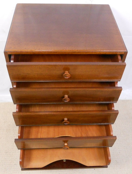 Mahogany Sheet Music Cabinet Chest of Drawers - SOLD